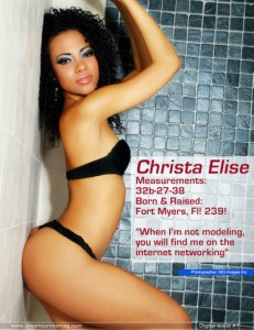 Christa Elise, then and now and the future