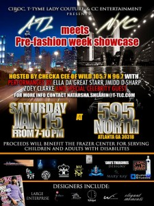 ATL meets NYC PRE-Fashion week showcase