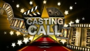 Opportunities to appear in a film this weekend!