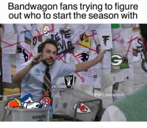 Are you a bandwagon fan?